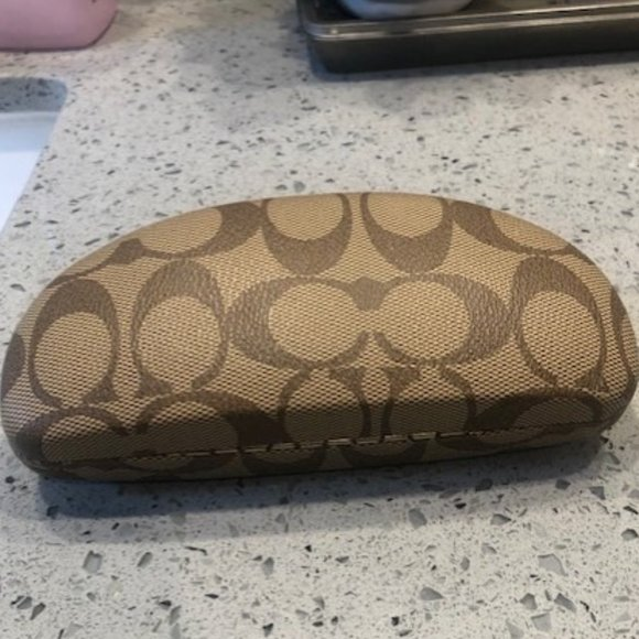 Authentic Coach Case for Glasses